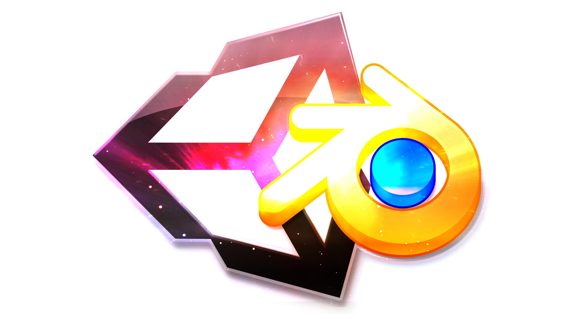 Unity 3d logo transparent